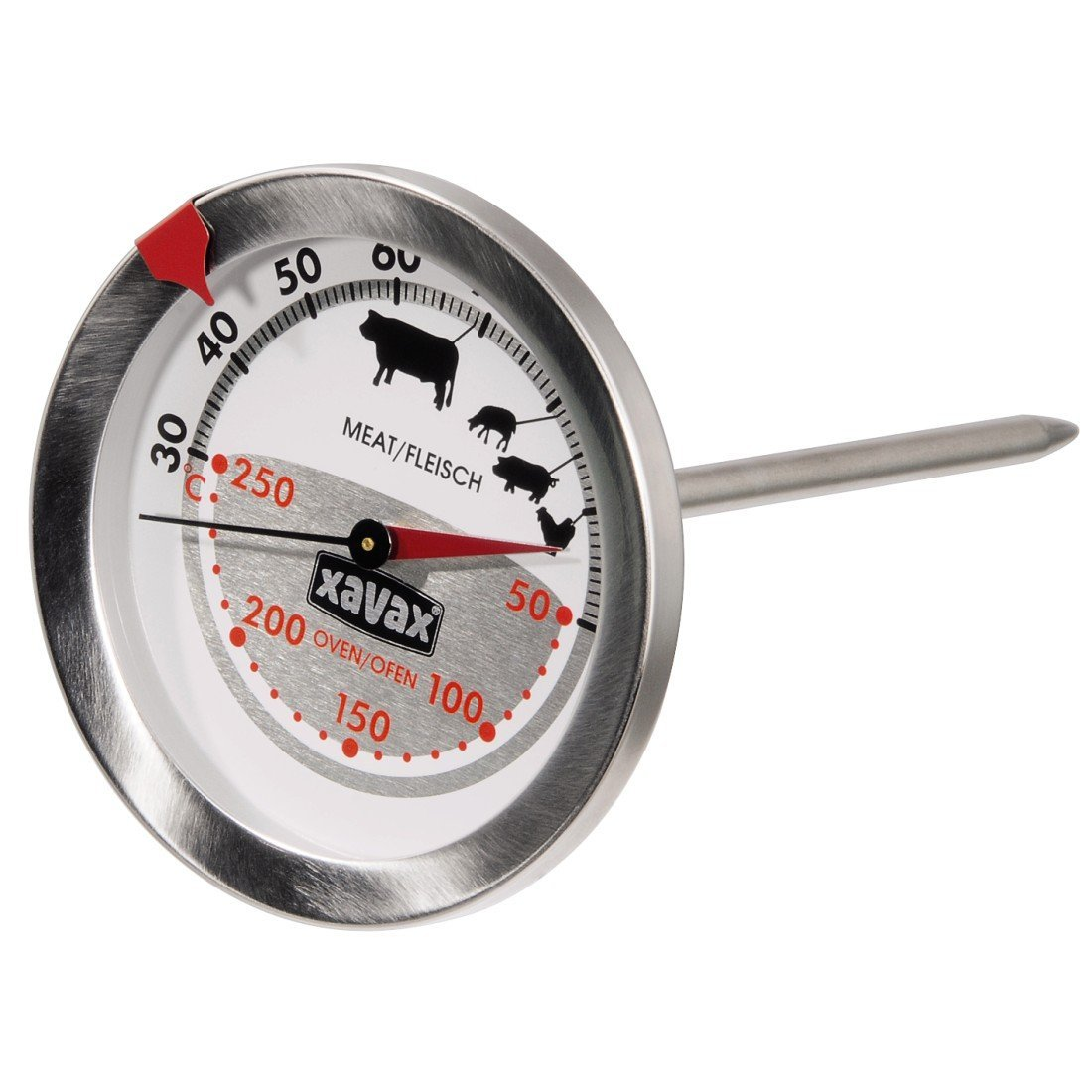 Xavax 2-in-1 Bratenthermometer